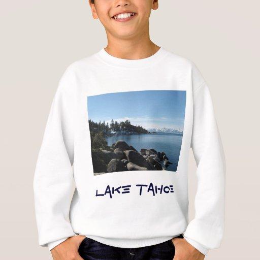 Orilla del norte el lago Tahoe, pueblo de la Playera