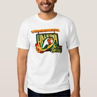 Orilla del norte Hawaii de Haleiwa Camisas