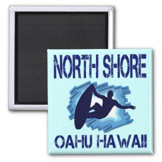 ORILLA DEL NORTE, OAHU, HAWAII IMÁN CUADRADO