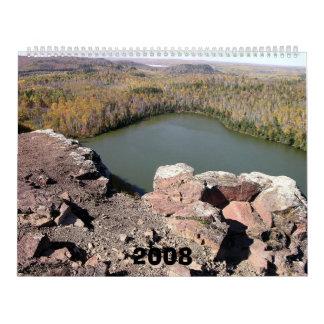 Orilla del norte superior, 2008 calendarios