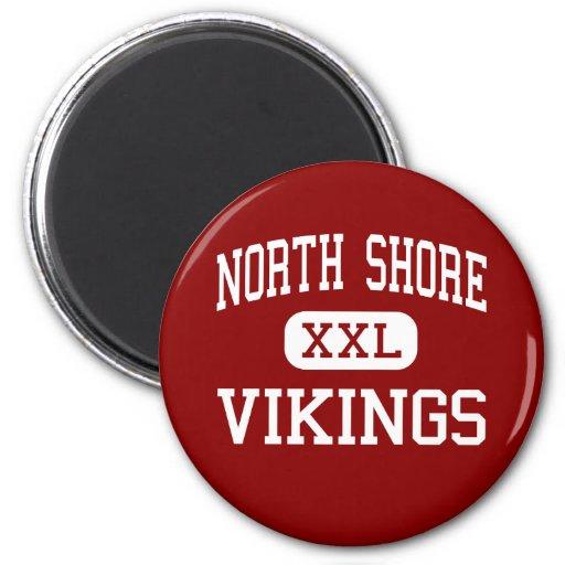 Orilla del norte - Vikingos - alta - cañada Nueva  Imán De Frigorífico