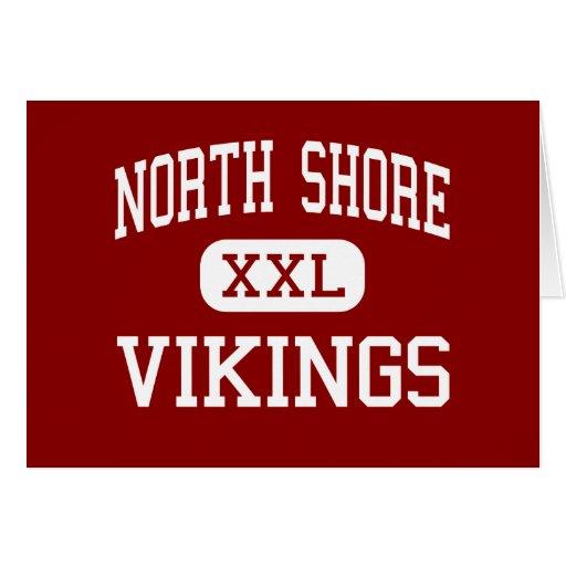 Orilla del norte - Vikingos - centro - cabeza de l Tarjetas