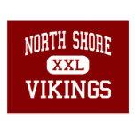 Orilla del norte - Vikingos - centro - cabeza de l Tarjeta Postal