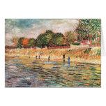 Orilla del río de Vincent van Gogh Tarjetas