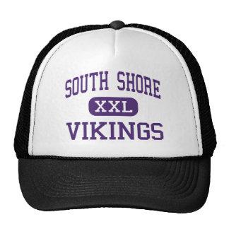 Orilla del sur - Vikingos - alta - Brooklyn Nueva  Gorros Bordados