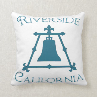 Orilla, diseño de California Raincross Fleur Cojín