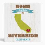 Orilla, mapa de California - casero está donde la