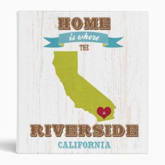 Orilla mapa de California - casero está donde la