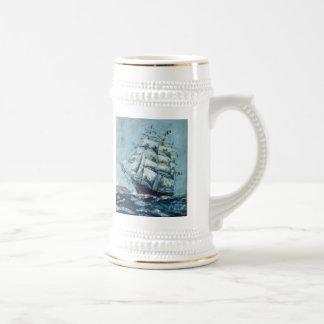 Orilla occidental histórica de la nave de podadora taza