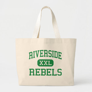 Orilla - rebeldes - alta - alturas de Dearborn Bolsa Tela Grande