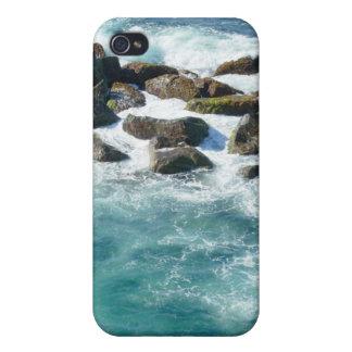 Orilla rocosa en el EL Morro iPhone 4 Cárcasa