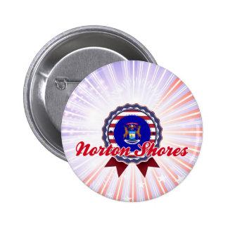 Orillas de Norton, MI Pins