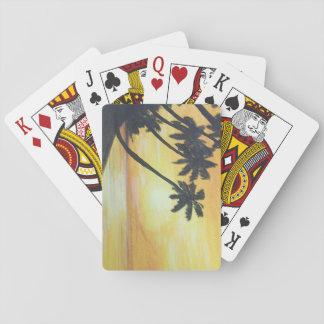 Orillas de oro baraja de póquer