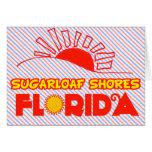 Orillas de Sugarloaf, la Florida Tarjetón