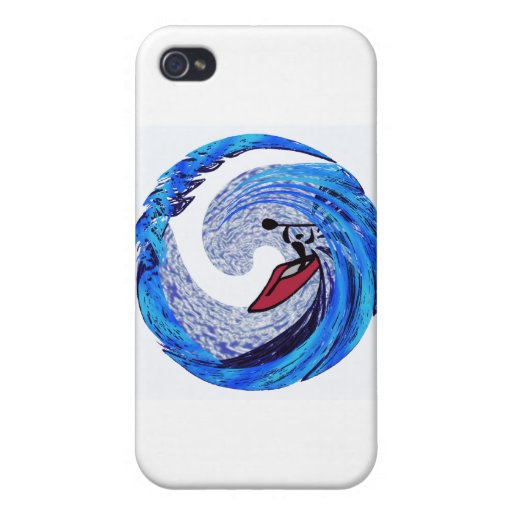 Orillas del golfo del kajak iPhone 4 fundas