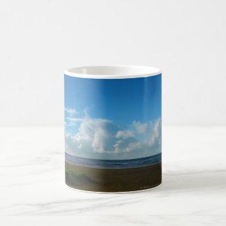 Orillas del océano taza de café