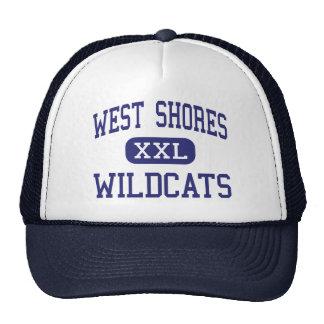 Orillas del oeste - gatos monteses - altas - ciuda gorras de camionero