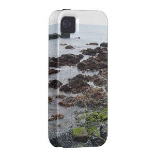 Orillas rocosas iPhone 4 fundas