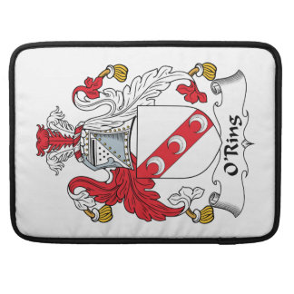 O'Ring Family Crest MacBook Pro Sleeve