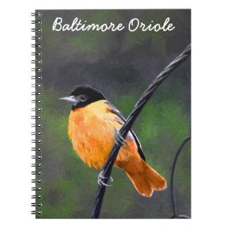 Oriole Notebook
