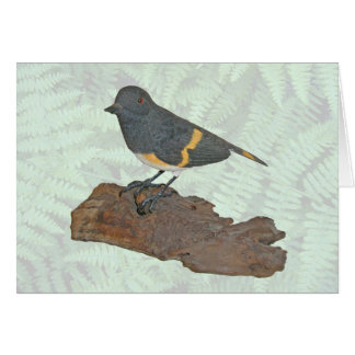 Oriole Woodcarving Note Card