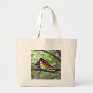 Orioles Large Tote Bag
