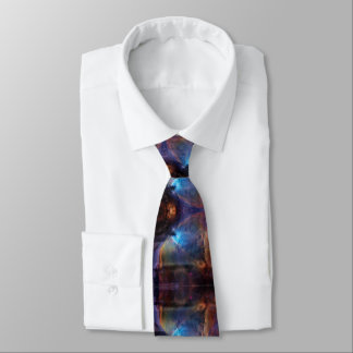 Orion Bathed in Blue Neck Tie
