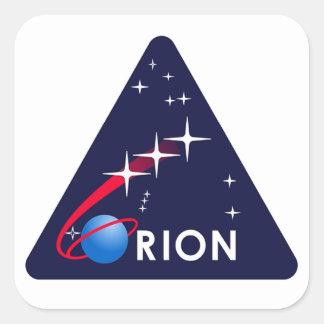 Orion Crew Module Square Sticker