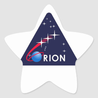 Orion Crew Module Star Stickers