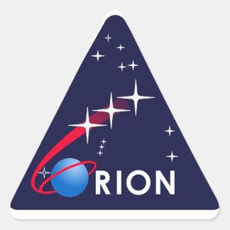 Orion Crew Module Triangle Stickers
