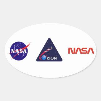 Orion Crew Module Oval Sticker