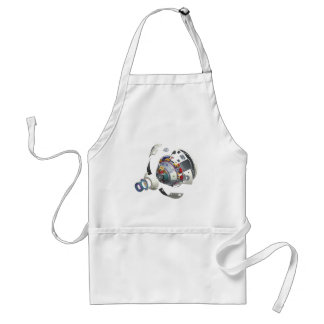Orion Exploded View Adult Apron