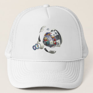 Orion Exploded View Trucker Hat