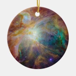 Orion in Infrared Ceramic Ornament