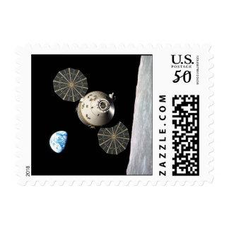 Orion Lunar Stamps