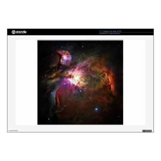 "Orion Nebula 17"" Laptop Decal"