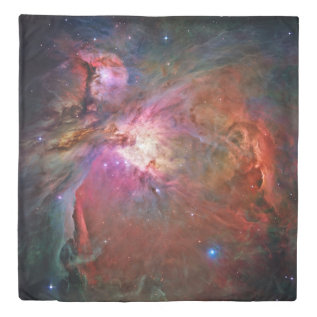 Orion Nebula (2 Sides) Queen Duvet Cover at Zazzle