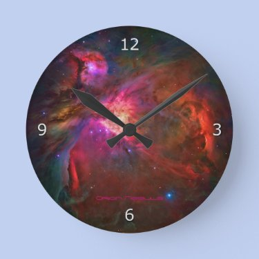 Orion Nebula and Trapezium Stars Clocks