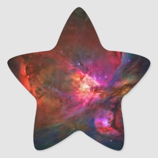 Orion Nebula and Trapezium Stars Star Sticker