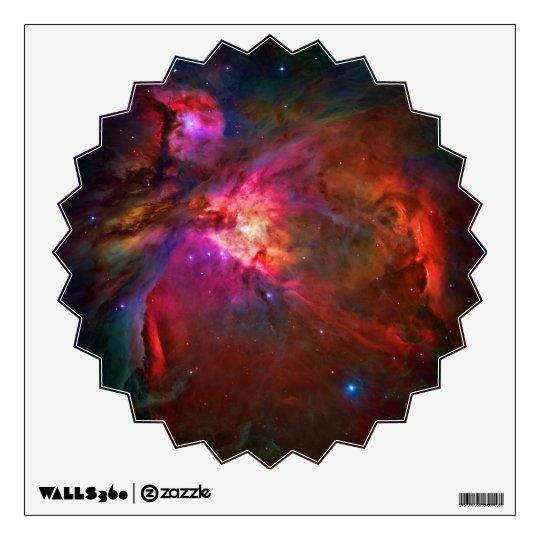 Orion Nebula and Trapezium Stars Wall Sticker