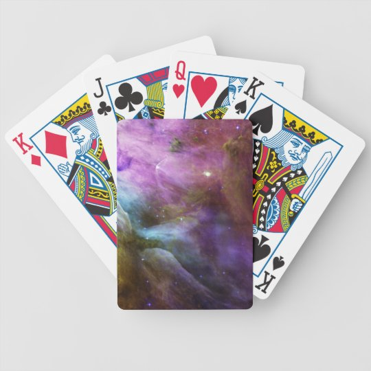 Orion Nebula Bicycle Playing Cards