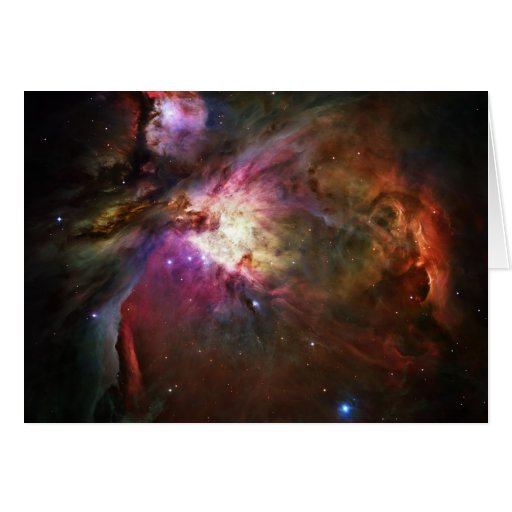 Orion Nebula Card