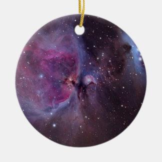 Orion Nebula Ceramic Ornament