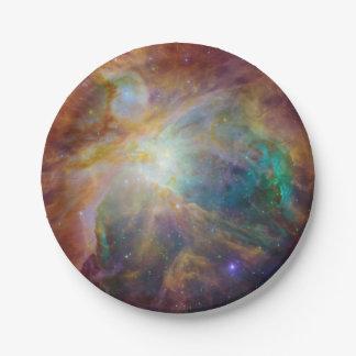 Orion Nebula Composite 7 Inch Paper Plate