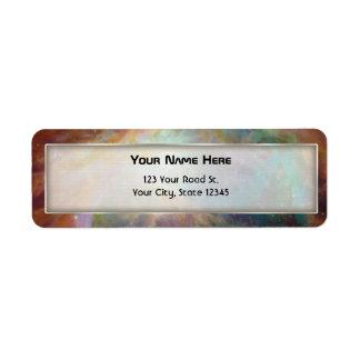 Orion Nebula Composite Label