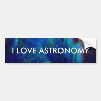 Orion Nebula cosmic galaxy space universe Bumper Sticker