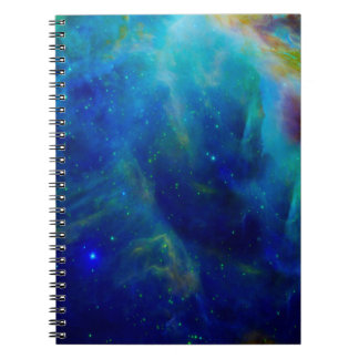 Orion Nebula cosmic galaxy space universe Notebook