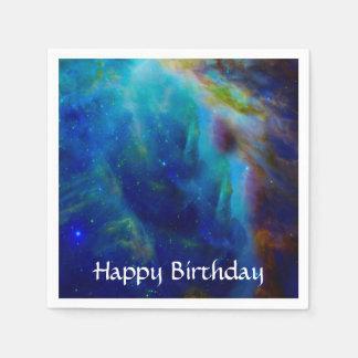 Orion Nebula cosmic galaxy space universe Paper Napkin