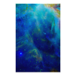 Orion Nebula cosmic galaxy space universe Stationery