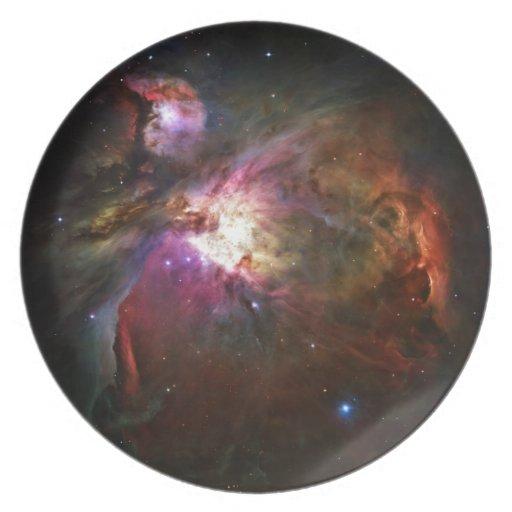 Orion Nebula Dinner Plate